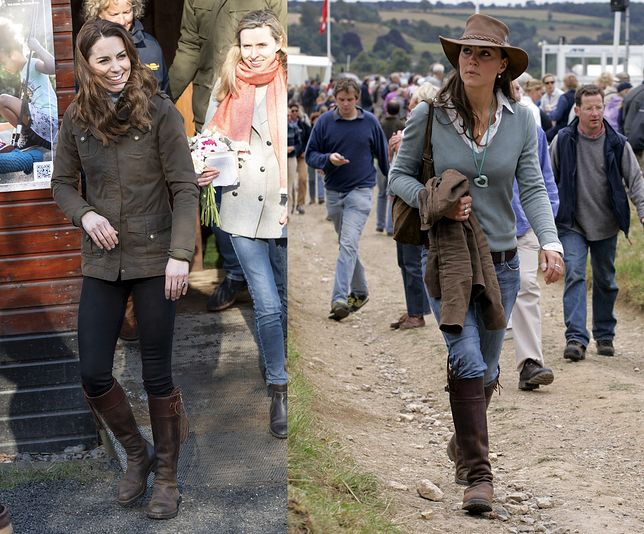 Księżna Kate znów założyła swoje ulubione buty