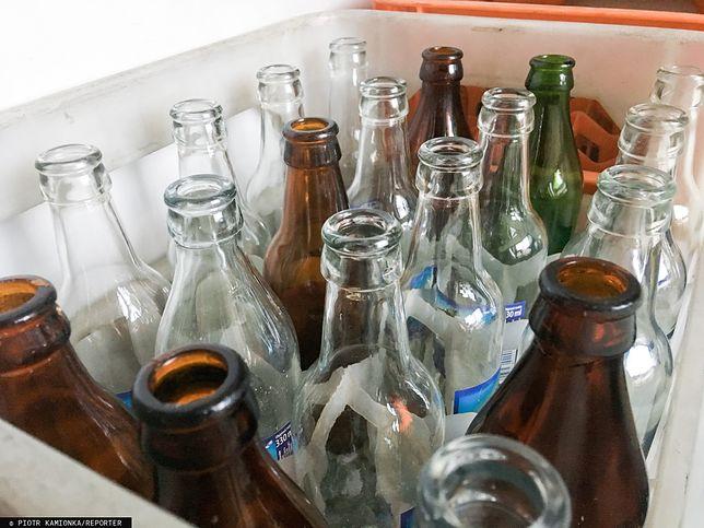 Szklane butelki są bardzo przyjaznymi dla środowiska opakowaniami
