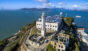 Alcatraz było najsłynniejszym więzieniem w Stanach Zjednoczonych. Działało od 1934 do 1963 roku.
