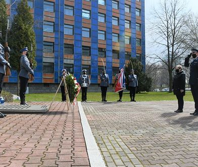 Katowice. Oddali hołd policjantom zamordowanym przez NKWD w 1940 roku