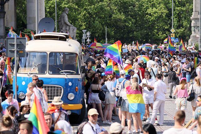 Marsz Równości wyruszył sprzed Pałacu Kultury o godz. 15.00