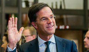 """Rutte: Holandia powiedziała """"stop"""" złemu populizmowi"""