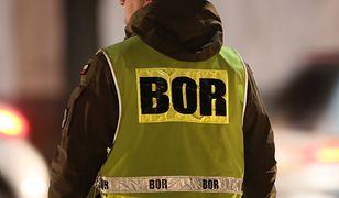 BOR potwierdził, że jego funkcjonariusze palili papierosy w niedozwolonym miejscu