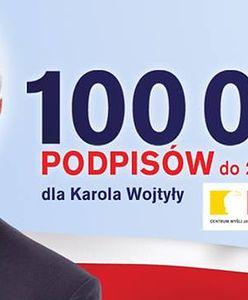 Jan Paweł II na stołecznych bilbordach wyborczych