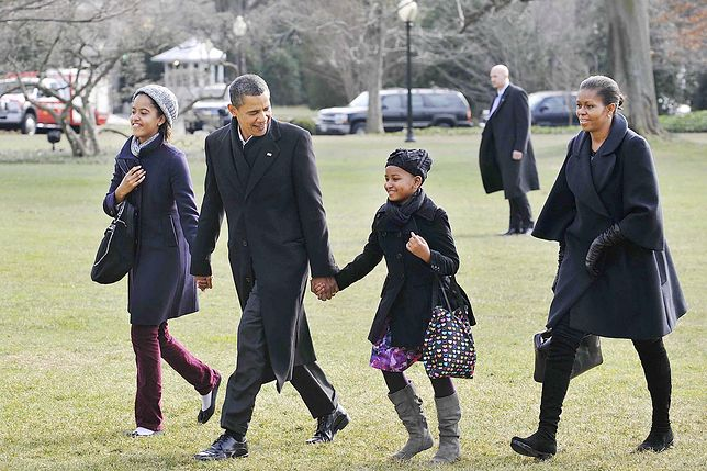 Barack Obama ma dwoje dzieci