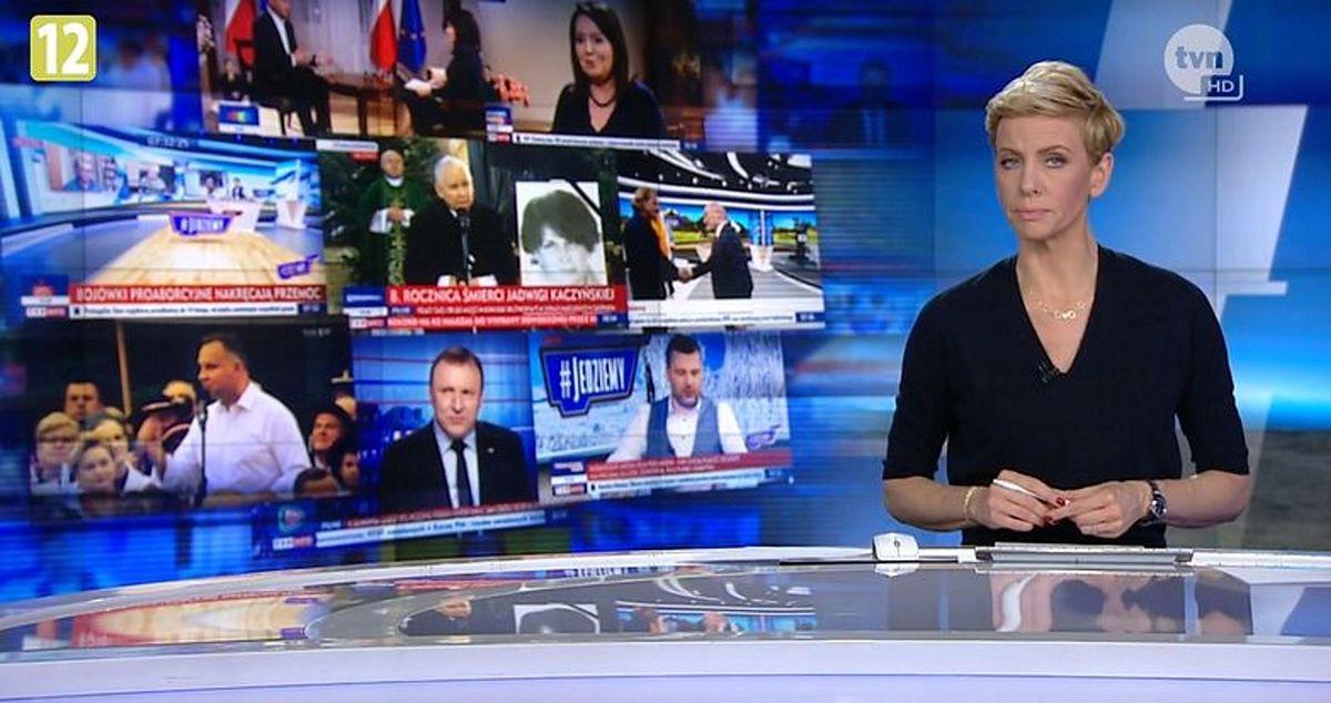 Anita Werner jest jedną z najbardziej rozpoznawalnych dziennikarek TVN24