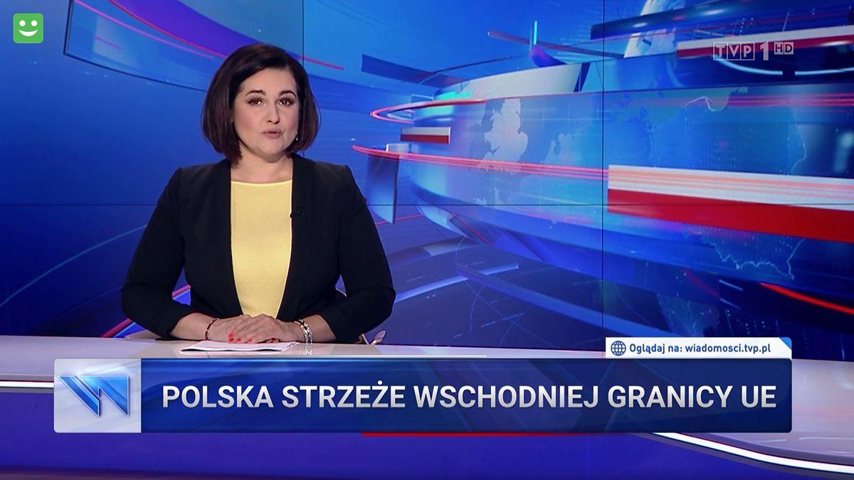 """""""Wiadomości"""" znowu pochyliły się nad kwestią uchodźców na polsko-białoruskiej granicy"""