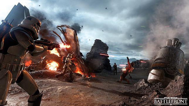 Star Wars: Battlefront to gra komputerowa z 2015 roku