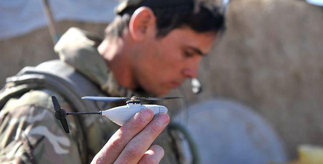 Najmniejsze drony świata wkraczają do Afganistanu
