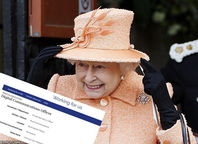 Królowa Wielkiej Brytanii poszukuje social media ninja. Pracuj w Buckingham Palace!