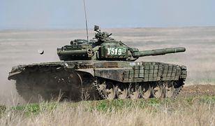 """T-72 B1, jeden z czołgów z oddziałów pancernych """"separatystów"""""""