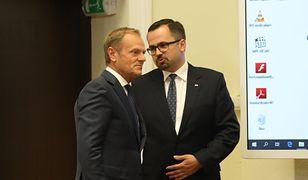 Marcin Horała poddał się walkowerem przed kolejną potyczką z Donaldem Tuskiem - pisze Marek Kacprzak