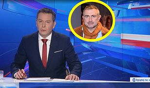 """""""Wiadomości"""" TVP przypomniały historię Marcina Kydryńskiego."""