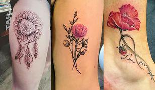 Modne tatuaże dla pań