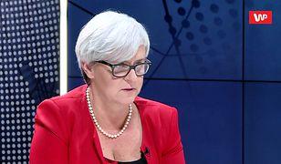 Kluzik-Rostkowska: minister Zalewska powinna smażyć się w piekle