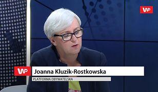 Joanna Kluzik-Rostkowska o powrocie Tuska. Dementuje plotki