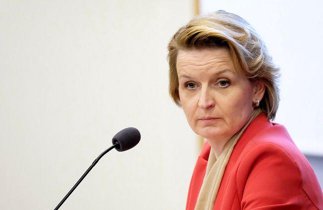 Wyrok TK ws. aborcji. Politycy obozu władzy komentują. Na zdjęciu: Barbara Socha