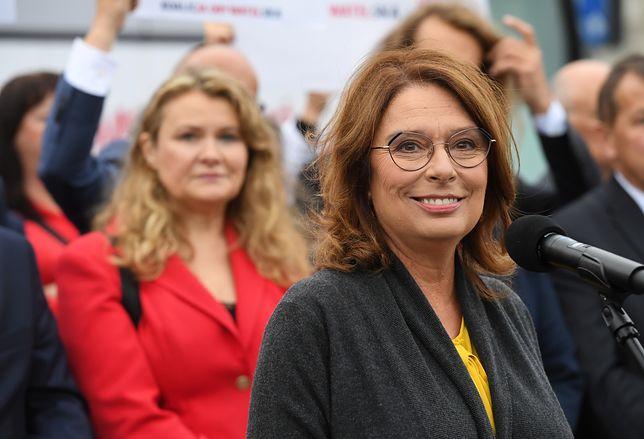 Małgorzata Kidawa-Błońska: nie wierzę w dobre intencje PiS