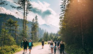 Tatrzański Park Narodowy jest chętnie odwiedzany przez turystów