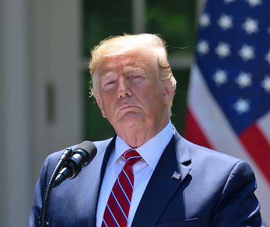 Swoją decyzję o wysłaniu do Polski Mike'a Pence'a prezydent Trump ogłosił w czwartek