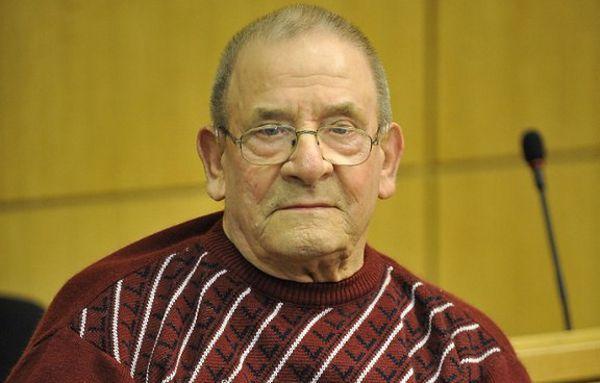 Heinrich Boere podczas procesu w 2010 r.