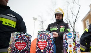 Strażacy ochotnicy wspierają WOŚP