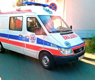Łódź. Pijany pacjent zaatakował ratowników medycznych