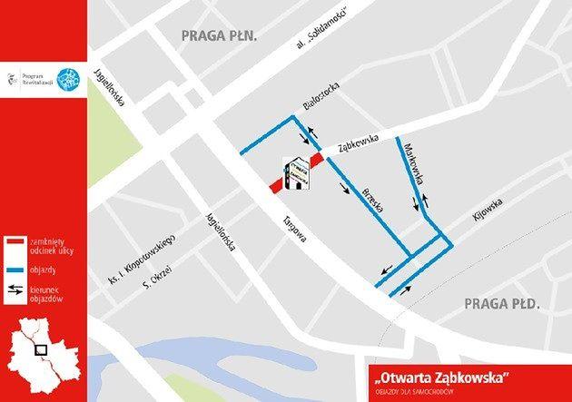 Festiwal Otwarta Ząbkowska, NightSkating oraz weekendowe frezowania. Gdzie pojawią się utrudnienia?