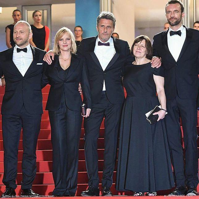 """Ekipa """"Zimnej wojny"""" w Cannes"""