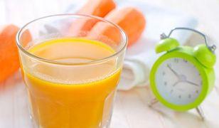 Największe zalety soku z marchwi