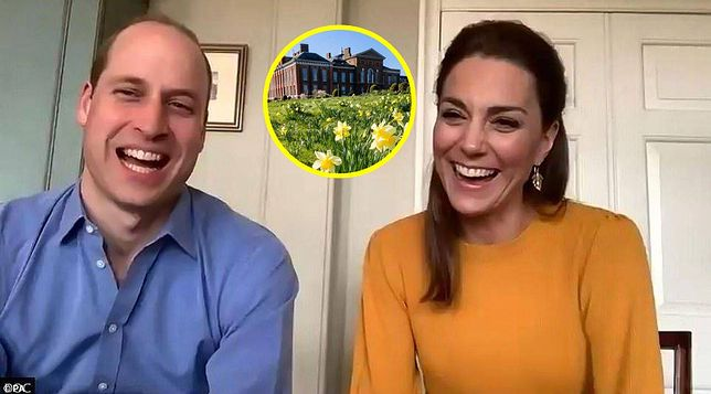 Kate i William w swoim domu