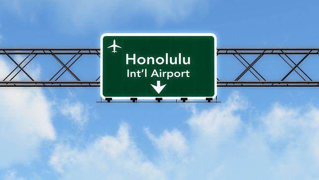 Pasażerki wylatywały z lotniska na Hawajach