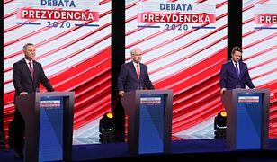 """Debata prezydencka w TVP. Kataryna: """"Zmarnowany czas i przegląd fobii narodowych"""" [OPINIA]"""