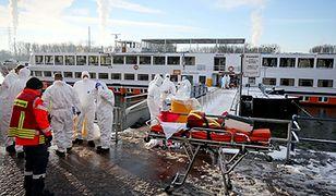 Epidemia na statku wycieczkowym w Niemczech