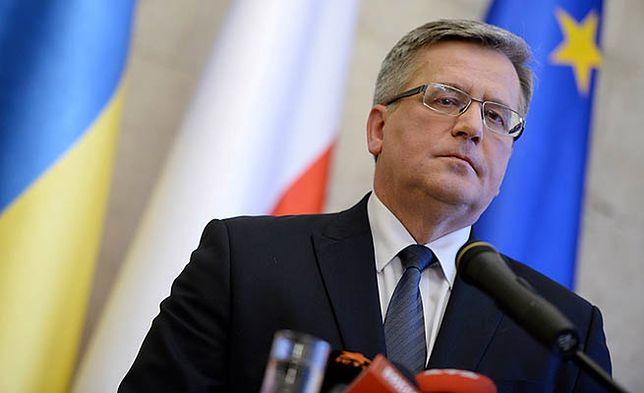 Bronisław Komorowski: wykorzystamy wszystkie sposoby, by realizowano ustalenia z Mińska