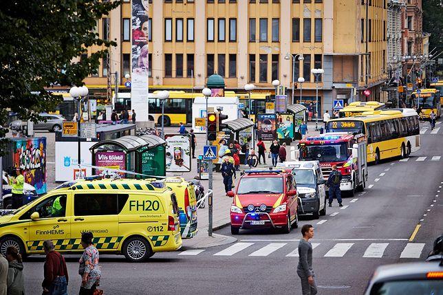 Atak nożownika w Finlandii. 2 osoby nie żyją