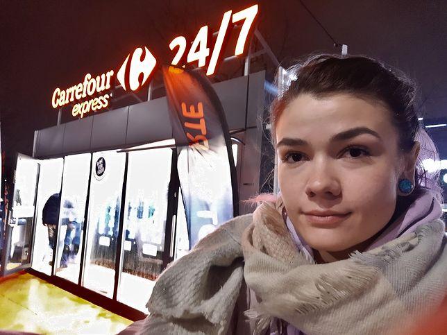 Pojechałam sprawdzić, jak wygląda pierwszy bezobsługowy sklep Carrefour Express 24/7.