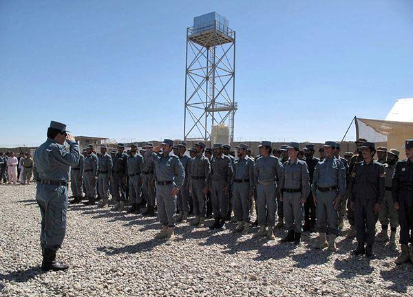 Policjanci w Afganistanie