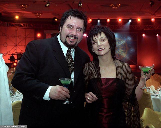 Dariusz Gnatowski z żoną Anną