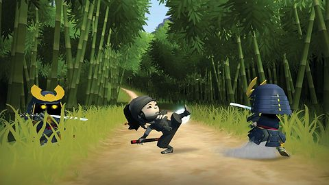 Po pokazie Mini Ninjas