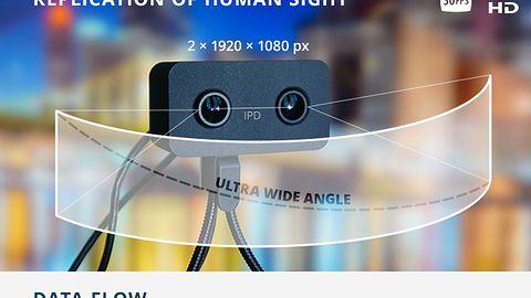 WebEye VR – kamerka internetowa nagrywająca materiały dla gogli VR