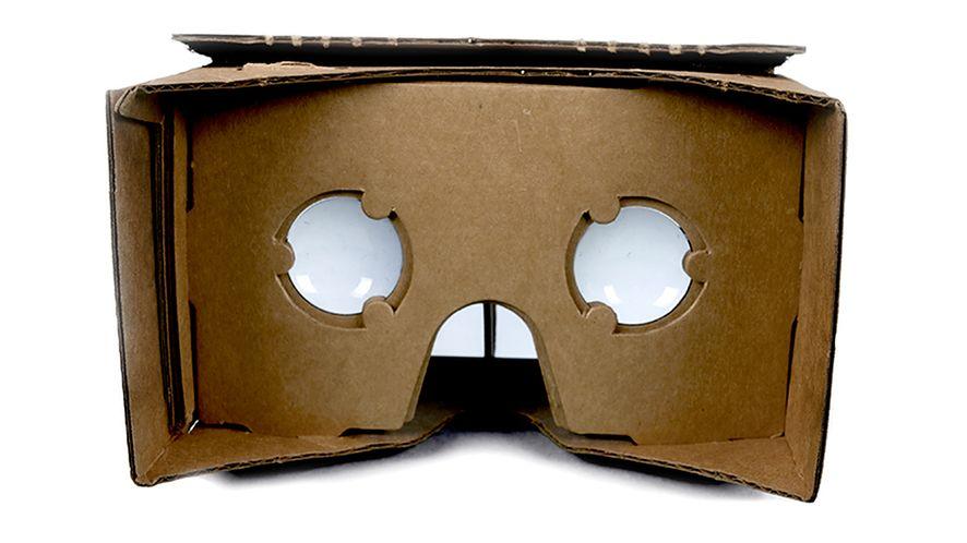 Google eksperymentuje z goglami VR... z kartonu
