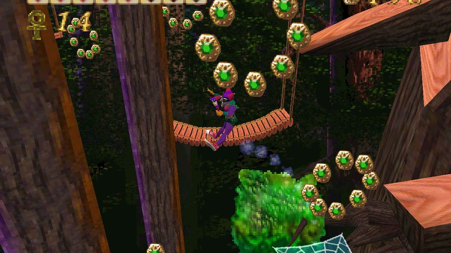 Screenshot z gry Pandemonium!