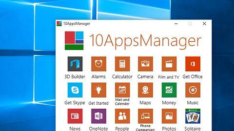 10AppsManager pomoże usunąć aplikacje wbudowane w Windows 10