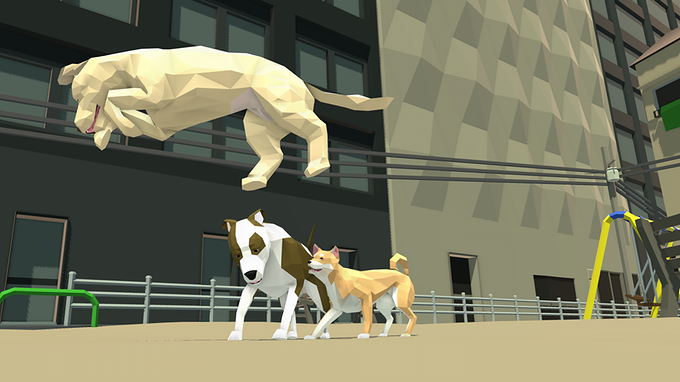 Home Free – survivalowy symulator psa w wielkim mieście