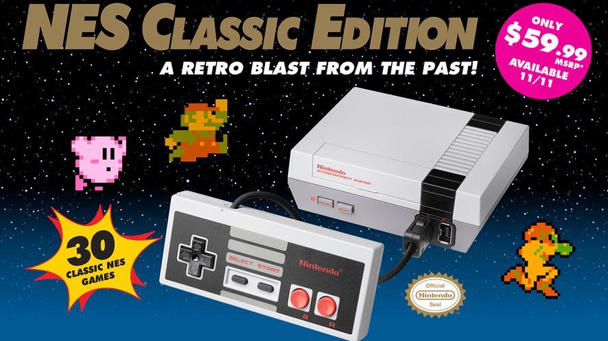 Po sukcesie Pokemon GO, Nintendo prezentuje konsolę NES Classic Edition
