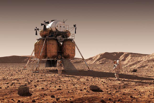 Pierwsze miasto na Marsie jeszcze w tym stuleciu