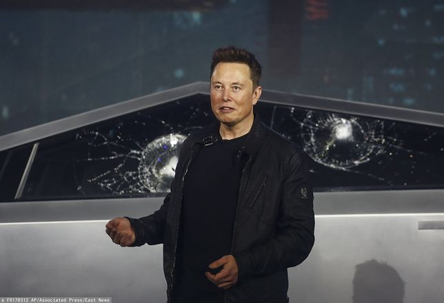 Cybertruck Elona Muska wciąż wzbudza masę emocji