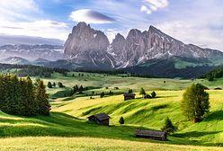 Włochy. Południowy Tyrol. Jeden z najpopularniejszych regionów w Europie