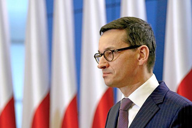 Komunikat Kancelarii Premiera. Trudne rozmowy Morawieckiego z Poroszenką